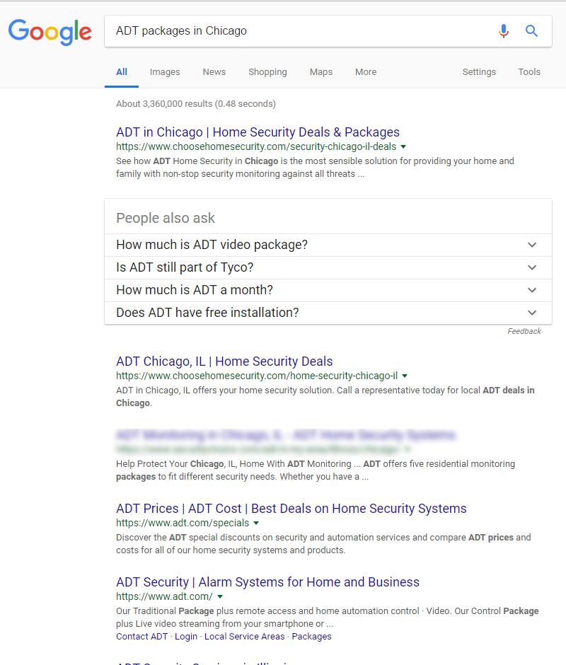 National Organic Search